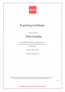 ACCA Practising Certificate 2011