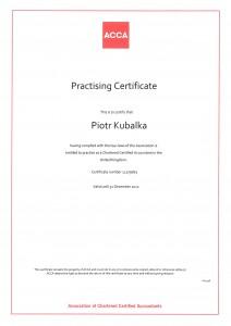 ACCA Practising Certificate 2012