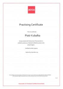 ACCA Practising Certificate 2013