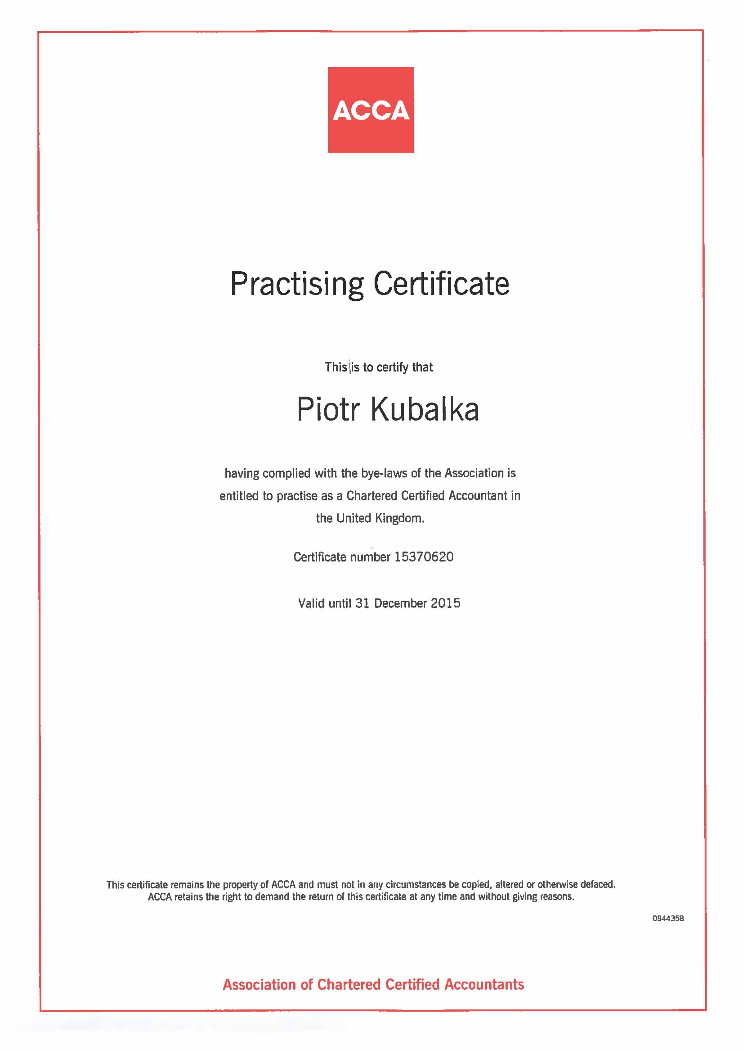 London Chartered Certified Accountants Capital Business Links Ltd