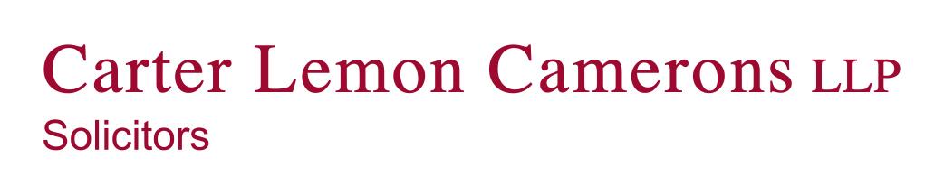Carter Lemon Camerons LLP   - logo